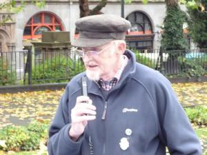 Merseyside C.N.D. Co-chair Gerry Poole