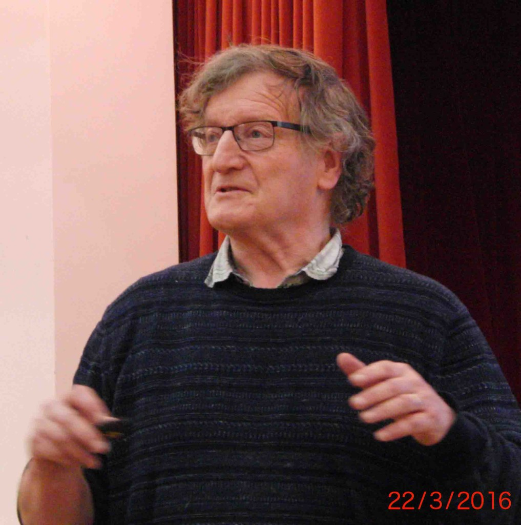 01e 22.3.16 Dave Hookes addresses  Stop the War Syria meeting in Liverpool Quakers