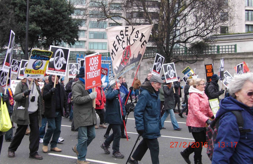 09e 27.2.16 Merseyside CND joins Stop Trident Demo in London