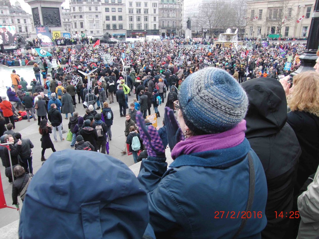 33e 27.2.16 Stop Trident Demo in London