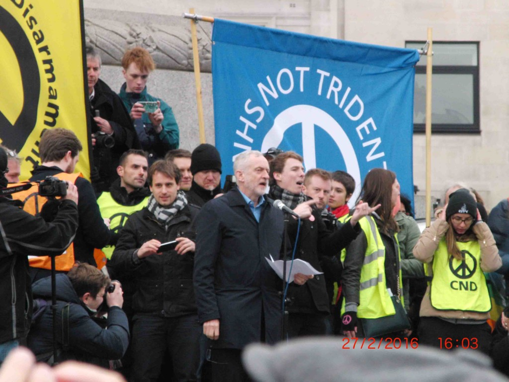 52e 27.2.16 Jeremy Corbyn at Stop Trident Demo in London