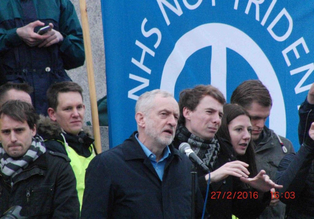 53e 27.2.16 Jeremy Corbyn at Stop Trident Demo in London