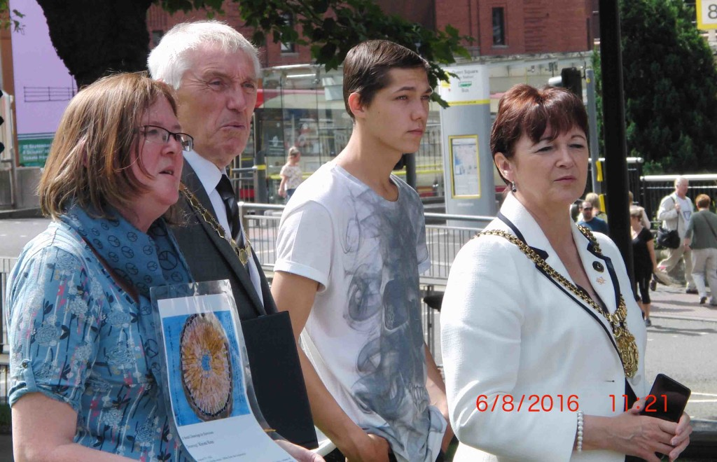 32e 6.8.16 MCND remembrance in Liverpool of 71st Anniversary of Hiroshima Atom Bomb